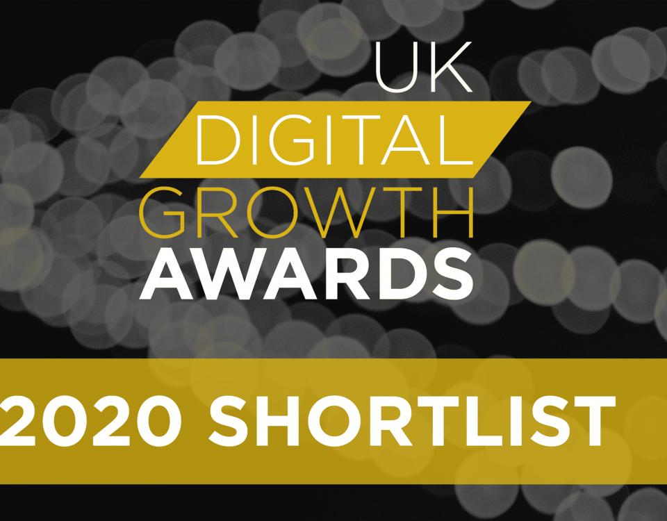 Accelerate shortlist UK Digital Growth Awards
